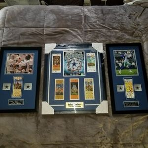 Dallas Cowboys Plaques
